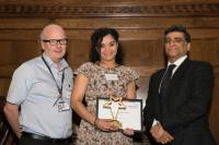 Critical care nurse scoops research award
