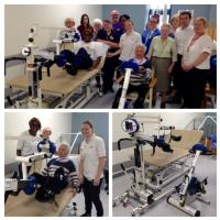Exercise bikes donated to ICU aid faster recovery