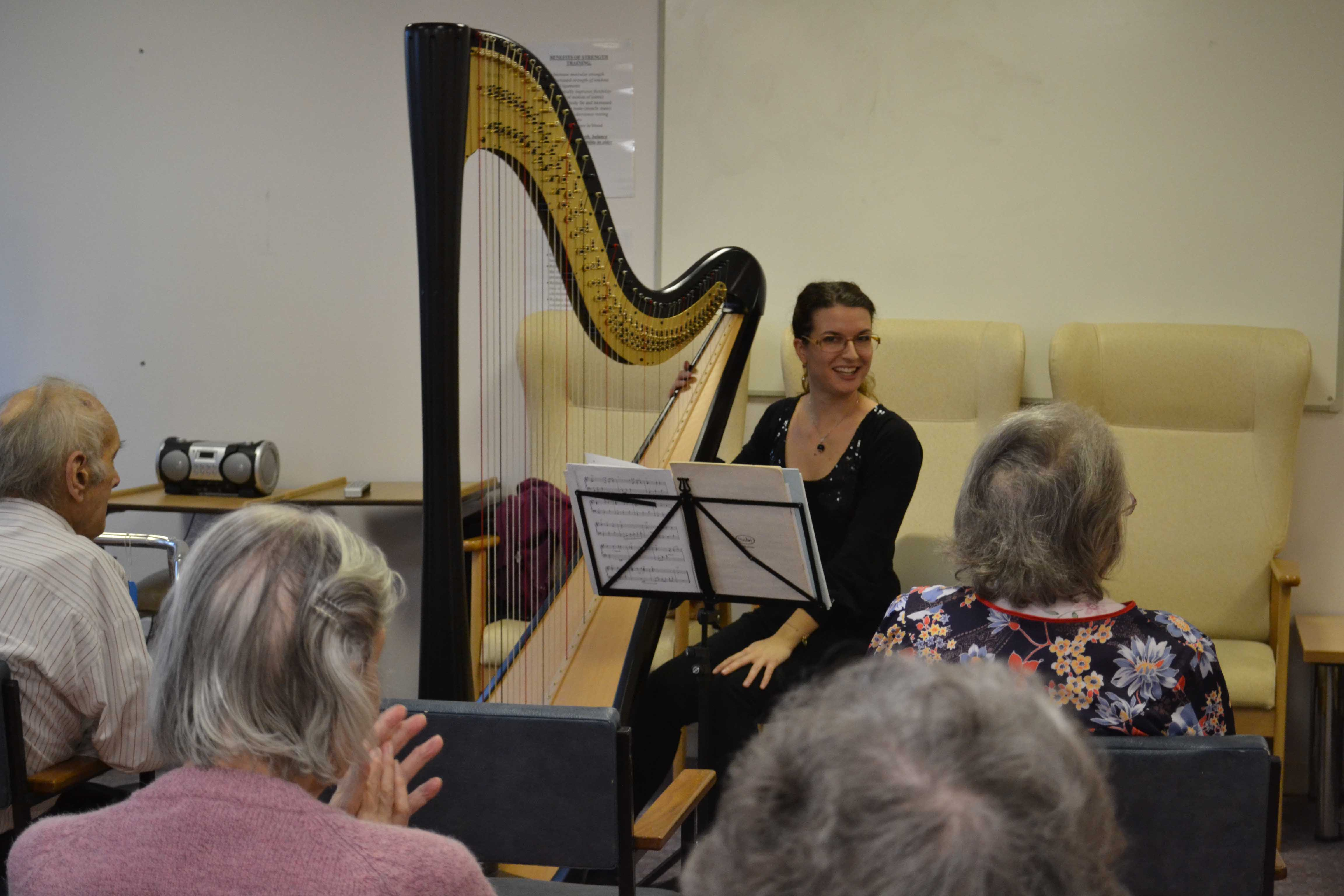 harpist massone
