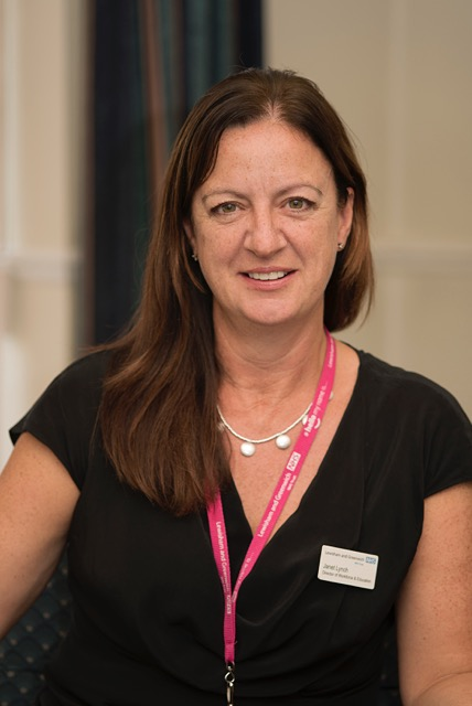 Janet Lynch (co-opted), Director of Workforce & Education portrait