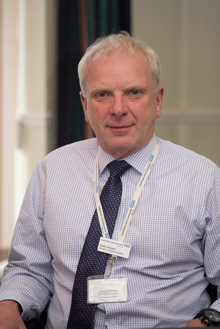 Keith Howard (co-opted), Director of Estates and Facilities portrait