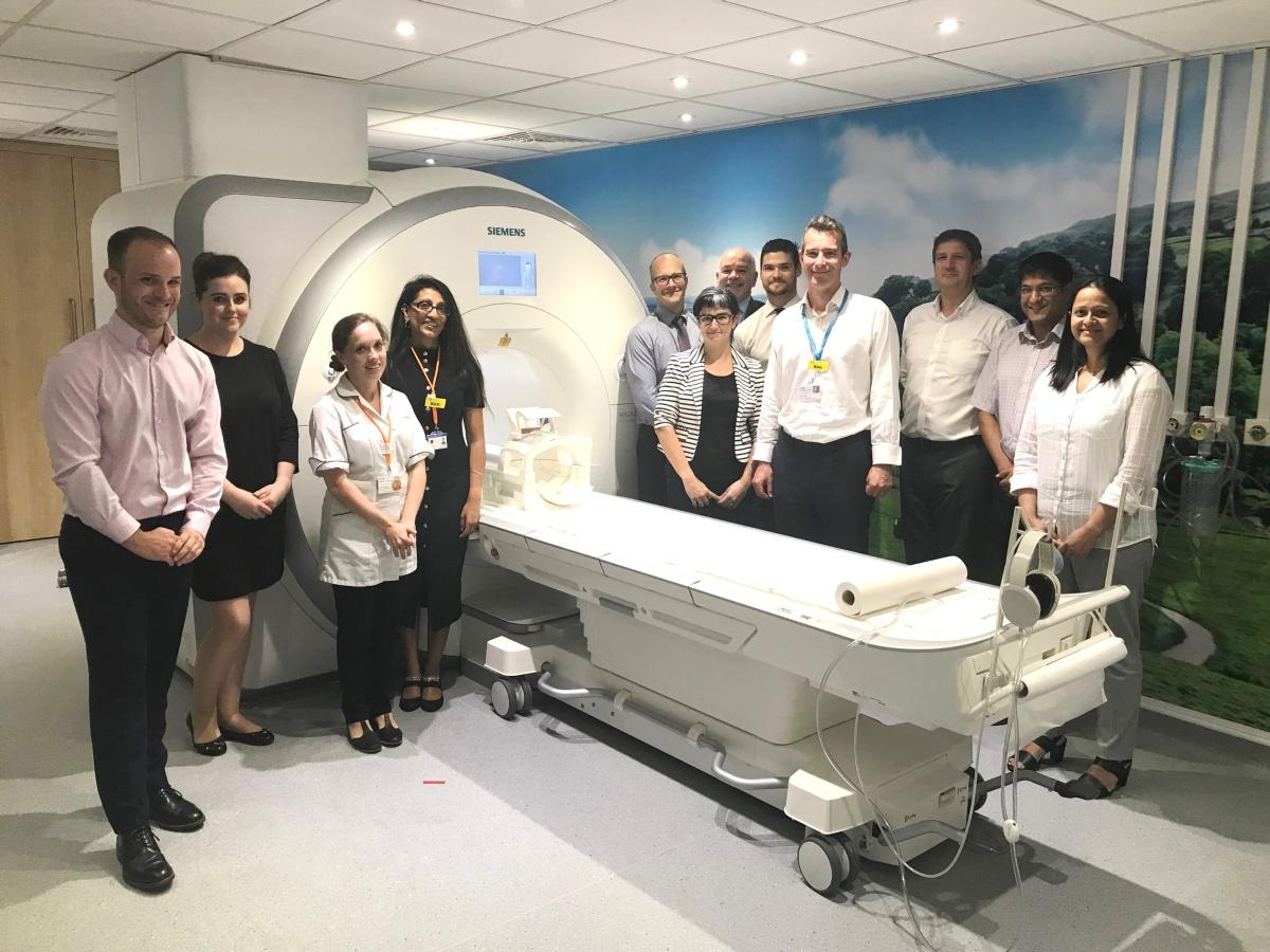 New MRI at UHL September 3 2018