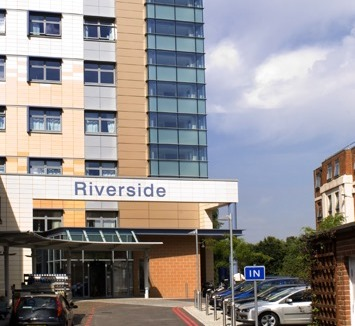 Riverside entrance