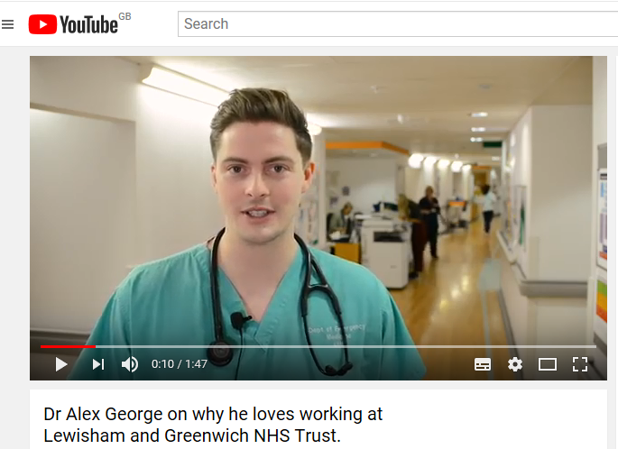 Dr Alex George