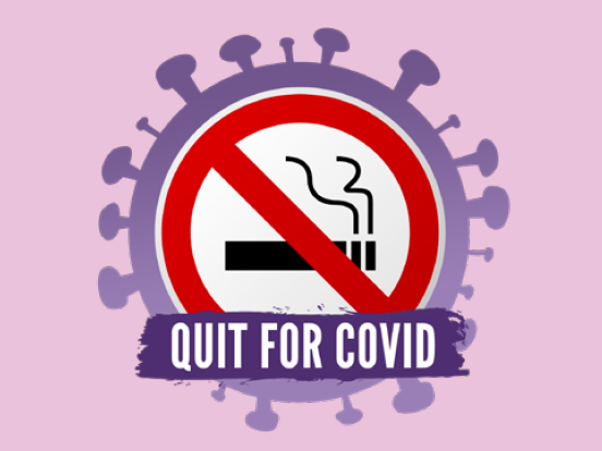 Quit for Covid stop smoking support during coronavirus
